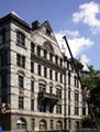 Thumbnail of custom slate roof, gutters and dome at Princeton University�s Witherspoon Hall