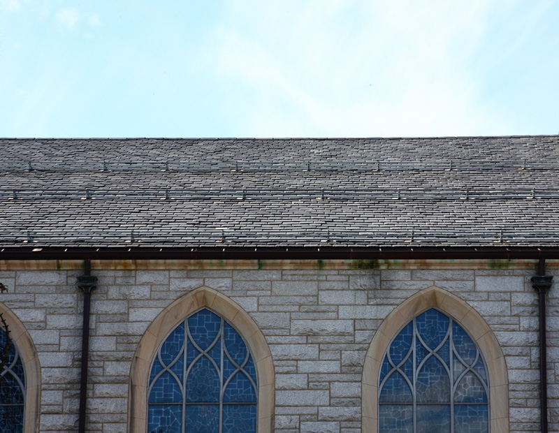 Full picture of replacement on St. Paul�s Catholic Church in Princeton, New Jersey