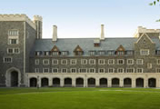 Thumbnail of copper and slate roof at Princeton University�s Whitman College